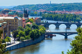 Bridges in Prague, Czech Republic — Stock Photo