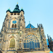 Stock Photo: St. Vitus Cathedral , Prague, Czech Republic