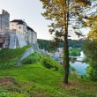 Evening Sternberk Castle in Czech Republic — Stock Photo
