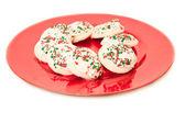 ディスク ・ プラッタ上のクッキー — ストック写真