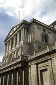 Gloom over bank of England — Stock Photo