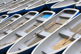Pattern of wood boat — Stock Photo