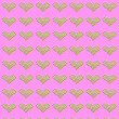 Royalty-Free Stock Photo: Love background : pattern of heart shape
