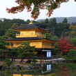 Stock Photo: Kinkakuji in autumn season - famous Golden Pavilion at Kyoto, Japan.