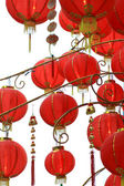 Red Chinese new year balloon — Stock Photo