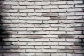 Pattern of old white brick wall — Stock Photo