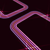 Retro disko arka plan spot etkisi ile — Stok Vektör