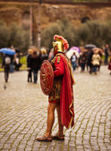 Roman soldier — Stock Photo