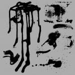 Creative Design Of Vector Paint Drops — Stock Vector #6755970