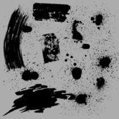 集时尚 grunge 溅 n 横幅 — 图库矢量图片