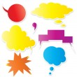 Exotic Colored Bubbles Stickers — Stock Vector #6904514