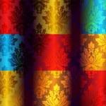 Fantastic Colorful Damask Floral Pattern — Stock Vector #7132167