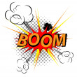 Comic Explosion Vector Art - 