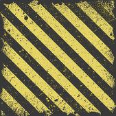 Golden Grungy Splashy Striped Template — Stock Vector