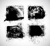 Smutsiga stänk — Stockvektor