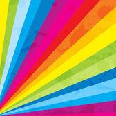 Conceptual Art of Splashy Colored Strips — Stock Vector