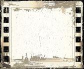 Vintage Grunge Texture Rough Backdrop — Stock Vector