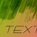 Green Grunge Wooden Stripes Banner Design — Stock Vector