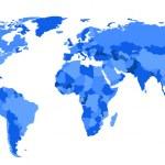 Conceptual World Map — Stock Vector #7583732