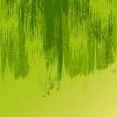 Brush Strokes in Green Color — Stock Vector