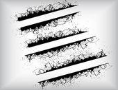 Stylish Splashy Banners — Stock vektor
