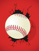 Baseball Abstract Background — Stock Vector