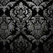 Dark Damask Background — Stock Photo