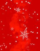 Bright Snowflakes Sparkle Background — Stock Photo