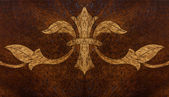 木制背景的艺术设计 — 图库照片