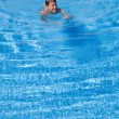 Swimming pool background — Stock Photo #6815218
