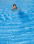 Swimming pool background — Stock Photo