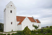 Old church in Als town, Jutland, Denmark — Stock Photo