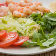 Pan fried prawns with chilli — Stock Photo #7722149