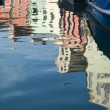 Stock Photo: Burano reflections