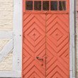 Red door — Stock Photo