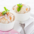 Easy dessert - milk rice - Stok fotoraf