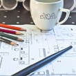 Architectural plan — Stock Photo #7135851