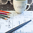 Architectural plan — Stock Photo