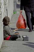 Beggar — Stock Photo