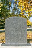 Pietra di tomba — Foto Stock