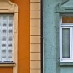 Old fashion windows — Stock Photo