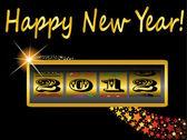 Happy New Year 2012 — Stock Vector