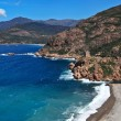 Corsica west coast calanches of Scandola near Porto — Stock Photo