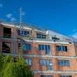 Residential building construction site on a lovely summer day (c — Stock Photo #7419166