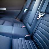 Modern car interior (shallow DOF - selective focus; color toned — Stock Photo
