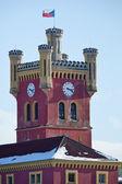 Mirov castle (turned into penitentiary), Czech republic — Stock Photo
