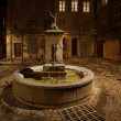 Lovely fountain in Aix-en-Provence, France. — Stock Photo