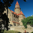 Splendid medieval castle - Bouzov Castle, Czech republic - Stock Photo