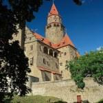 Splendid medieval castle - Bouzov Castle, Czech republic — Stock Photo