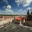 Stock Photo: Old Town Square in Prague, Czech republic.